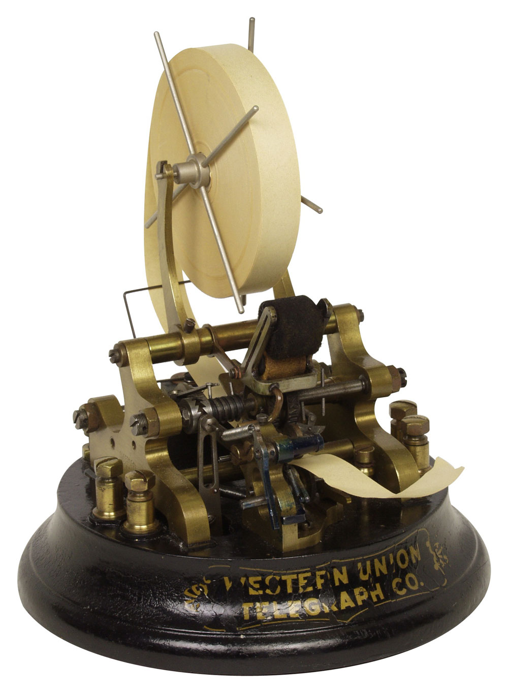 Edison universal stock ticker museum of american finance