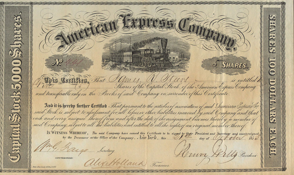 American Express | Museum of American Finance