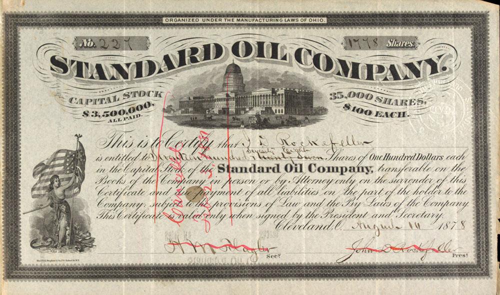 Standard Oil Museum of American Finance